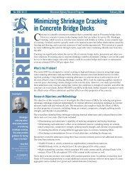 Minimizing Shrinkage Cracking in Concrete Bridge Decks, Summary of