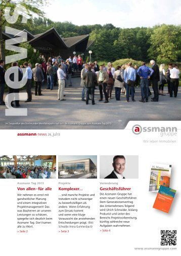 Von allen - für alle assmann news 26_jul13 ... - Assmann Gruppe