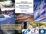 Mountain Risks - Template