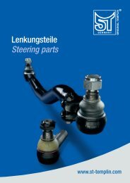 Lenkungsteile Steering parts - ST-Templin.com