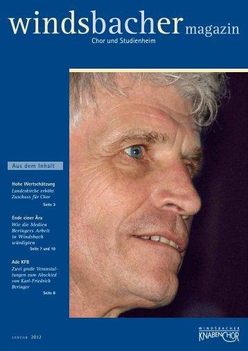 magazin - Windsbacher Knabenchor