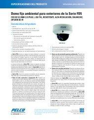 Domo fijo ambiental para exteriores de la Serie FD5 - CCTV Center