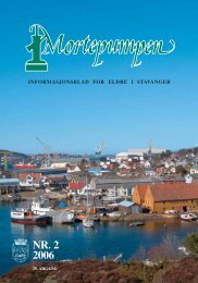 Mortepumpen nr. 2 2006 - Stavanger kommune