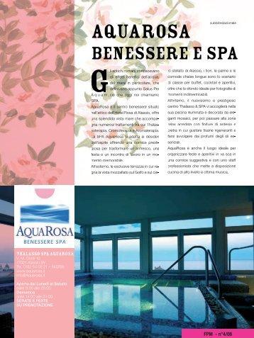 SPA Aquarosa - Freepressmagazine.it