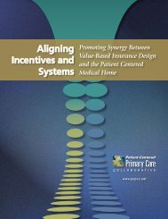 Aligning Incentives and Systems: Promoting Synergy Between ...