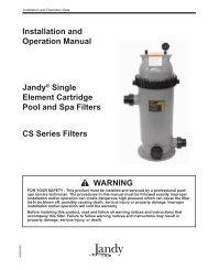 Jandy Single Element