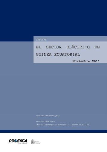 situación del sector eléctrico en guinea ecuatorial - Proexca