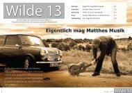 Eigentlich mag Matthes Musik - Westfälische Hochschule