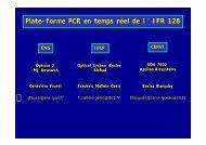 Service de PCR Quantitative par Bariza Blanquier