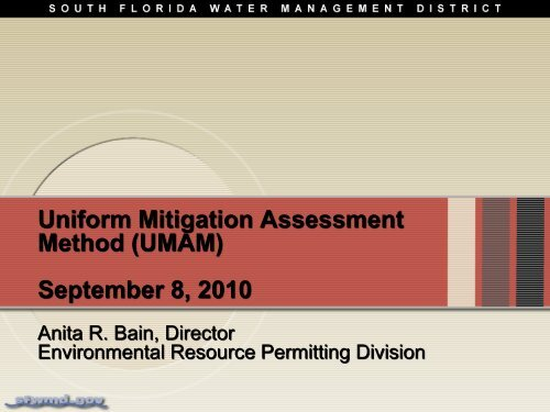 W11 UMAM - South Florida Water Management District