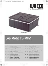 CoolMatic CS-MP2 - Waeco