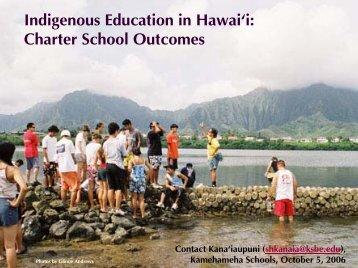 study on Native Hawaiian charter schools - Honolulu Advertiser