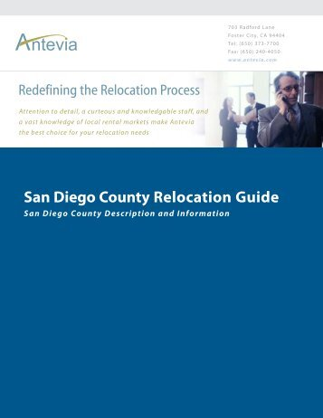 San Diego County Relocation Guide - Antevia
