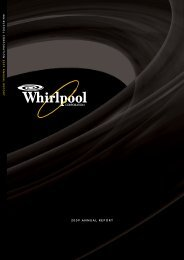 2009 ANNUAL REPORT - Whirlpool Corporation