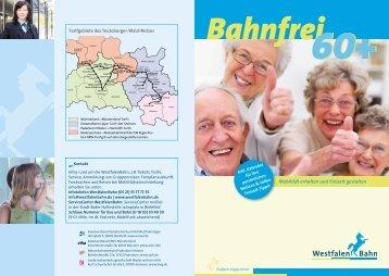 Bahnfrei 60+ - WestfalenBahn GmbH