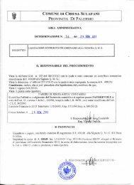 Liquidazione contributo straordinario alla Signora Quartararo Maria ...