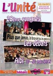 Le 28ème congrès Albi du 19 au 21 juin