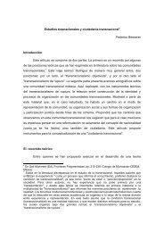 Estudios transnacionales y ciudadanía transnacional ... - Cholonautas