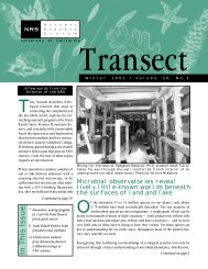 Transect vol.20:3 - Natural Reserve System