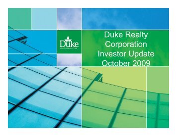 Duke Realty Corp. - Rational Investing