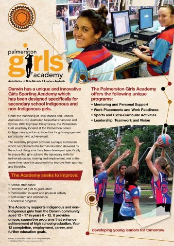 Palmerston Girls Academy Brochure (469 kb)
