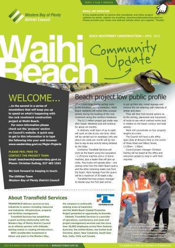 Waihi Beach - Western Bay of Plenty District Council