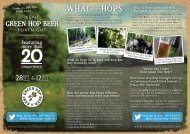 What do hops do in beer and how are they normally used? How are ...