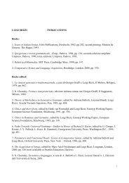 updated list of publications - Centro Interdipartimentale di Studi ...