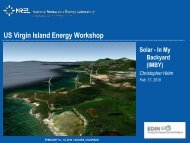 In My Back Yard (IMBY) - Energy Development in Island Nations