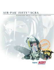 AIR-PAK® FIFTY™ SCBA
