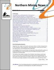 Northern Mining News – December 2012 - NWT & Nunavut ...