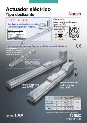 Actuador eléctrico - SMC ETech