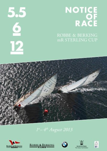 mr sterling cup - Robbe und Berking Classics - Robbe & Berking