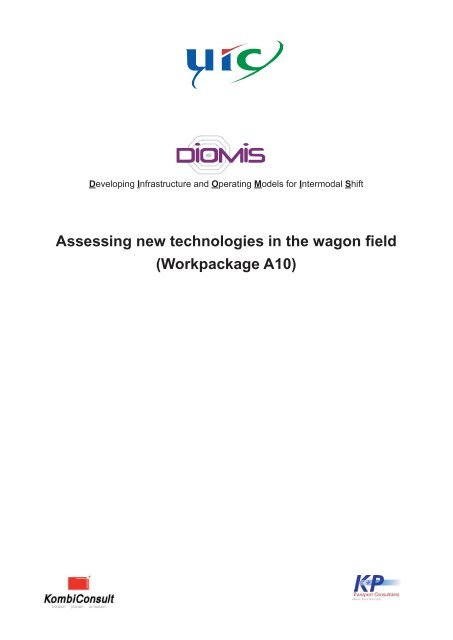 Assessing new technologies in the wagon field - UIC