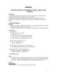 Fiziopatologia termoreglarii si a reactiei febrile - OvidiusMD