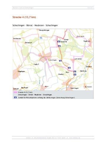 Strecke 4 (13,7 km) - Schechingen