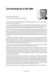 Ralf Albrecht - Lebendige Gemeinde