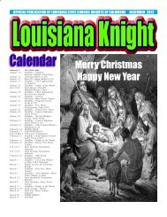 Merry Christmas Happy New Year - Louisiana State Council