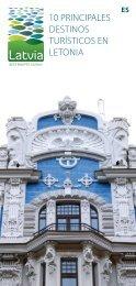 10 principales destinos turísticos en letonia