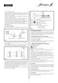 installation et mise en service installation and starting ... - Sie - Page 6