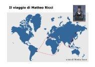 Il viaggio di Matteo Ricci - STRINGHER