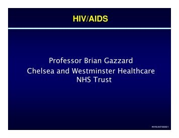 HIV/AIDS - Events