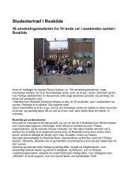 Studentertræf i Roskilde september 2006 - Distrikt 48
