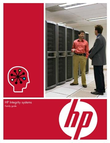 HP Integrity systems - Family guide - BL Trading