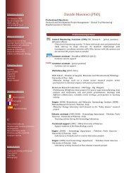 Davide Musmeci (PhD) - Doctorat
