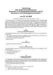 Verordnung über die Berufsausbildung zum Karosserie- und ...