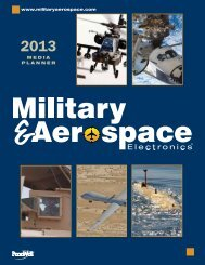 2013 Media Kit - Military & Aerospace Electronics