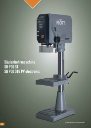 Produktblatt SB P30 STG PV electronic herunterladen (.pdf ... - Flott