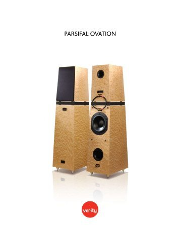 PARSIFAL OVATION - Verity Audio