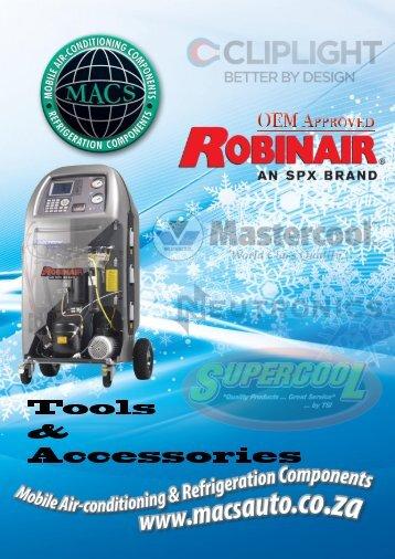 Robinair Catalogue & OEM Endorsements - MACS